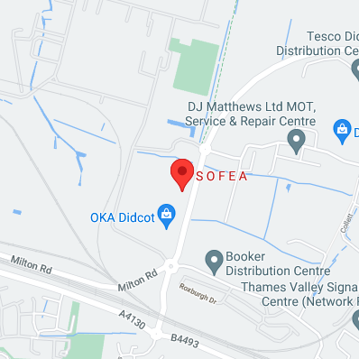 SOFEA Didcot map location